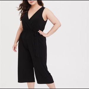 Torrid Sleeveless Black Jumpsuit